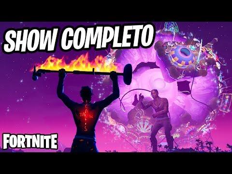 Fortnite - SHOW DO TRAVIS SCOTT COMPLETO