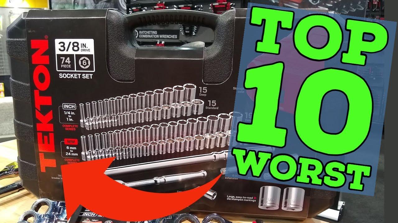10 Worst Tools From Tekton! (2021)