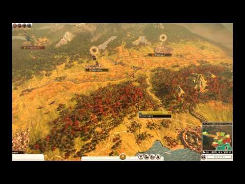 Premier aperçu au gameplay de Total War: ROME II -- César en Gaule - FR