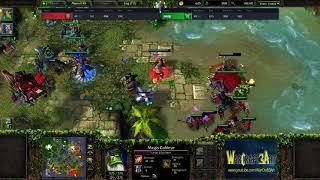 Lyn(ORC) vs Moon(NE) - WarCraft 3 Frozen Throne - RN3536