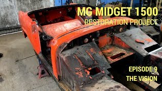 MG Midget 1500 Restoration - The Vision (and final tear down)