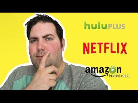 Netflix vs Hulu Plus vs Amazon Prime Video Streaming video comparison