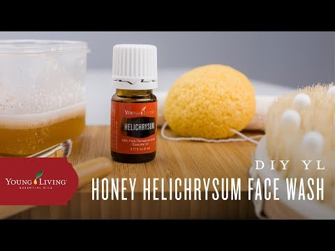 diy-face-wash-with-helichrysum-essential-oil-|-young-living-essential-oils