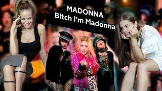 Реакции моделей на клип Мадонны - Bitch I'm Madonna ft. Nicki Minaj