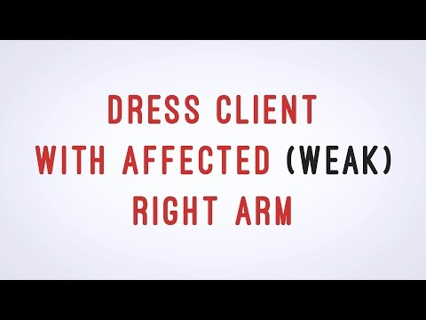 dress-client-with-affected-(weak)-arm---cna-skill-video---aamt