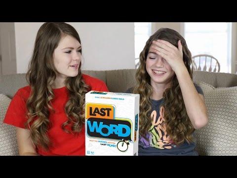 Last Word Challenge / JustJordan33  