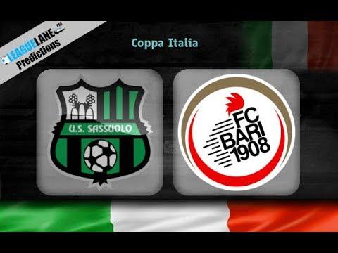 Coppa Italia: Sassuolo 🆚 Bari - Full HD ⚽⚽