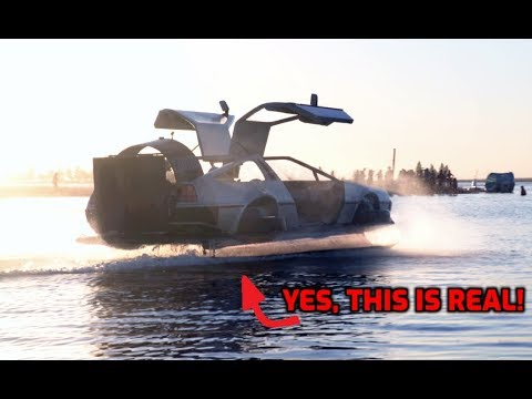 "You can own a ""DeLorean"" hovercraft"