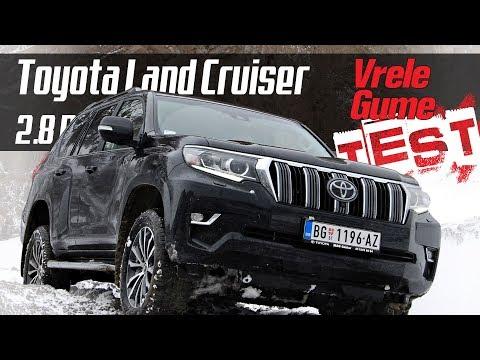Toyota Land Cruiser 2.8 D4D - Road TEST by Miodrag Piroški (BONUS VIDEO)
