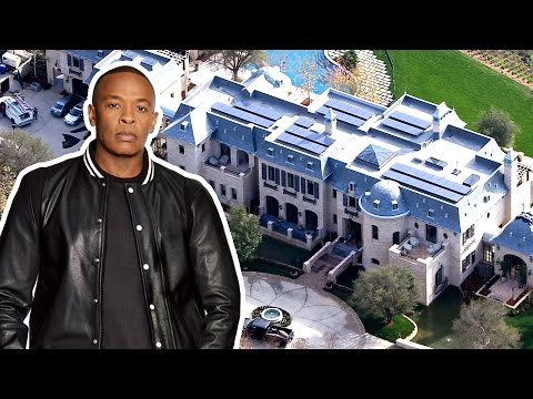 Dr. Dre House Brentwood, California - $40 Million