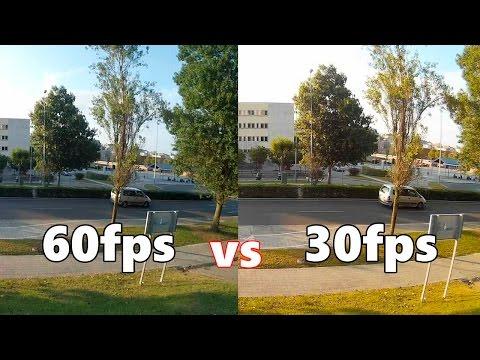 60fps vs 30fps, diferencias en cámara lenta