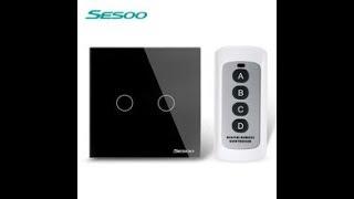 Глюки работы сенсорных выключателей SESOO .