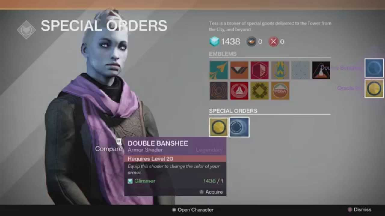 Destiny free cards emblems amp shaders youtube