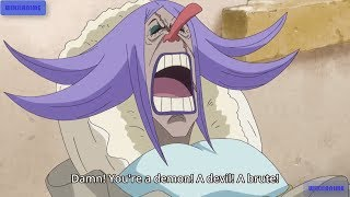 Luffy Abuses Brulee and Use Her As Human Shield-One Piece  Funny Scene,ワンピース ,One Piece 859 HD