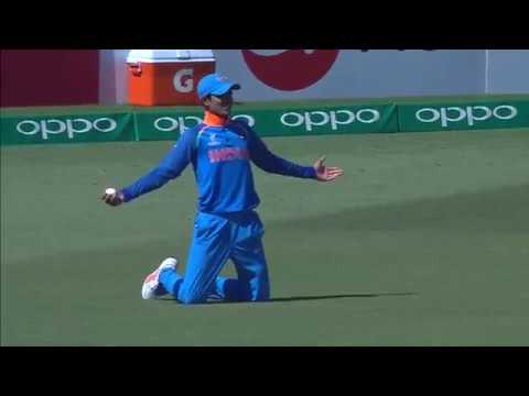 U19CWC Nissan Play of the Day - Gill's tumbling over the shoulder catch!