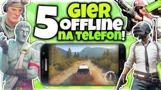 5 NAJLEPSZYCH gier OFFLINE Na Telefon! 9 *najlepsze gierki*