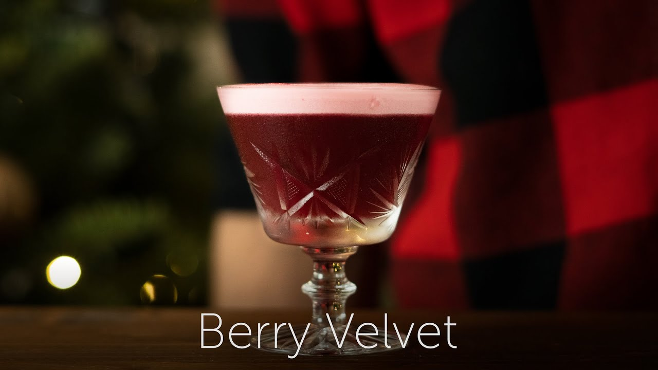 Berry Velvet | 12 Days of Cocktails - Day 05