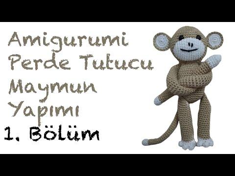 Örgü Oyuncak Maymun Yapılışı (Amigurumi) | Maymunlar, Hayvan ... | 360x480