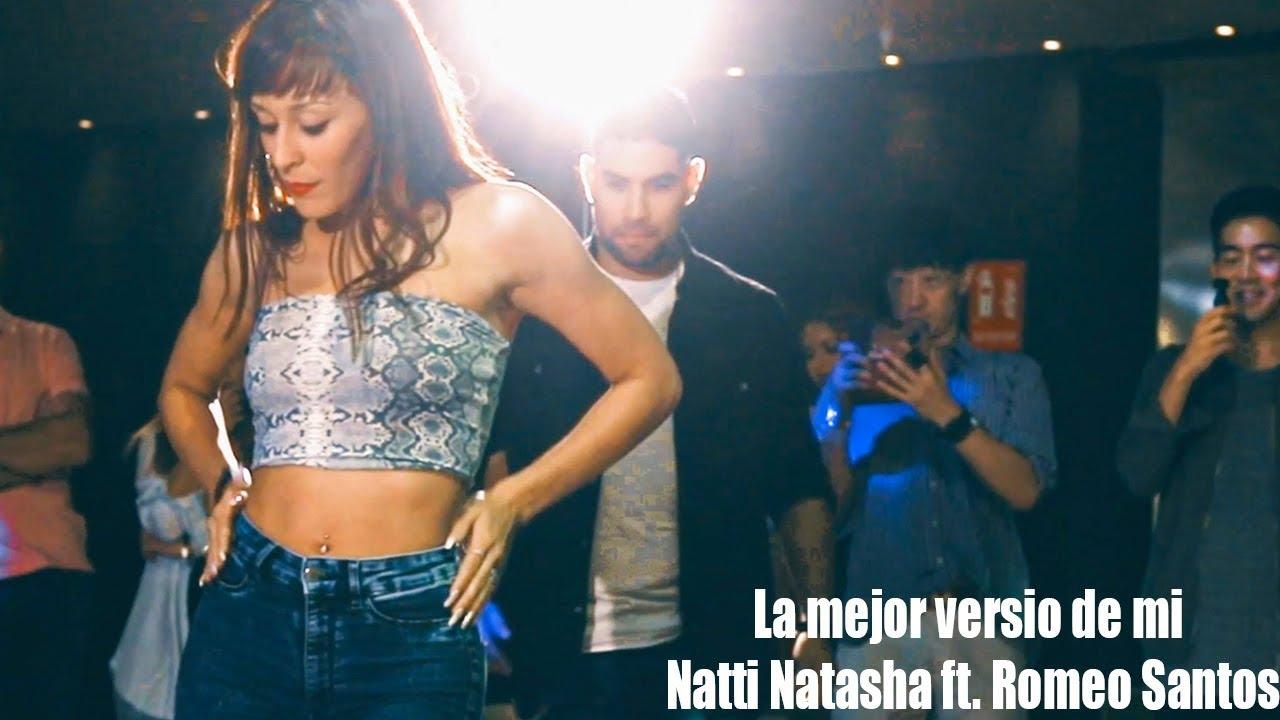 Natti Natasha ft. Romeo Santos - La Mejor Versión De Mi (Remix) Marco y Sara bachata workchop 2019