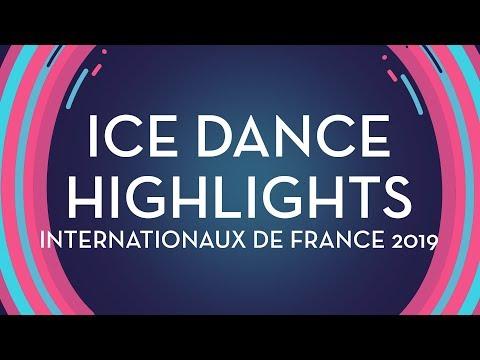 Ice Dance Highlights | Internationaux De France 2019 | #GPFigure
