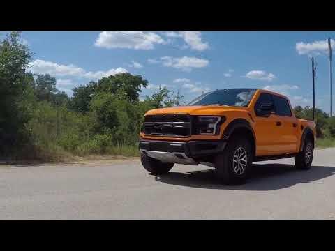 Ford Raptor Color Change Wrap Orange
