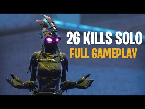 26 Kills Solo | Console - Fortnite Full Gameplay