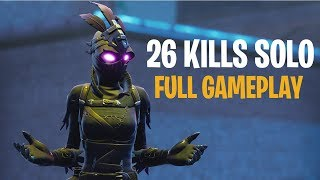 26 Kills Solo  Console - Fortnite Full Gameplay