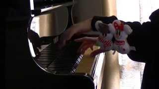 使用楽譜は、全音「王様のピアノ クリスマス」 です。 かわいいミッキー...