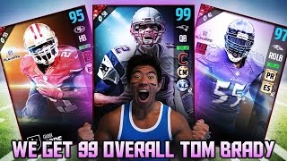 we get 99 ovr tom brady legends frank gore suggs go off madden 17 ultimate team