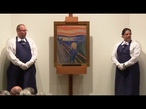 """Edvard Munch's """"The Scream"""" nabs a record price"""