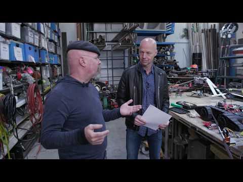 Udacity Talks Episode 9: Jamie Hyneman  Former Mythbuster, M5 Industries