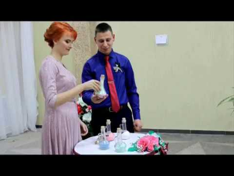 Свадьба. Песочная церемония для молодожёнов. (Чашники, Новолукомль, Чырвоны прамень)