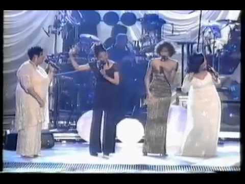 Whitney Houston sings Exhale & Count On Me with CeCe Winans   GRAMMYs 1997 Live   YouTube