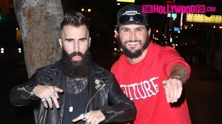 Paul Abrahamian & Victor Arroyo Arrive To The Big Brother 18 Wrap Party At Clifton's 9.22.16