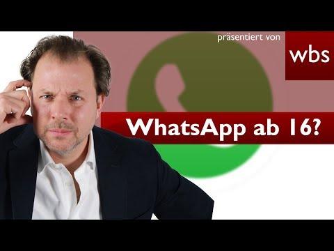 WhatsApp bald erst ab 16? | Rechtsanwalt Christian Solmecke