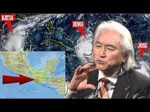Dr. Michio Kaku: El HAARP es responsable de la reciente oleada de huracanes y demás...