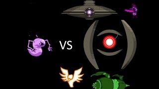 Starbound Extended Story Mod Erchius Ghost VS All Bosses