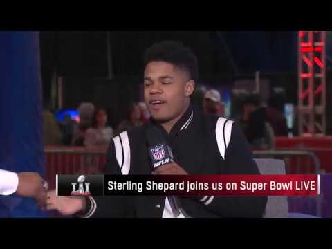 Sterling Shepard on Miami Trip
