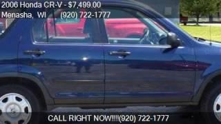 2006 honda cr v lx awd 4dr suv for sale in menasha wi 54952
