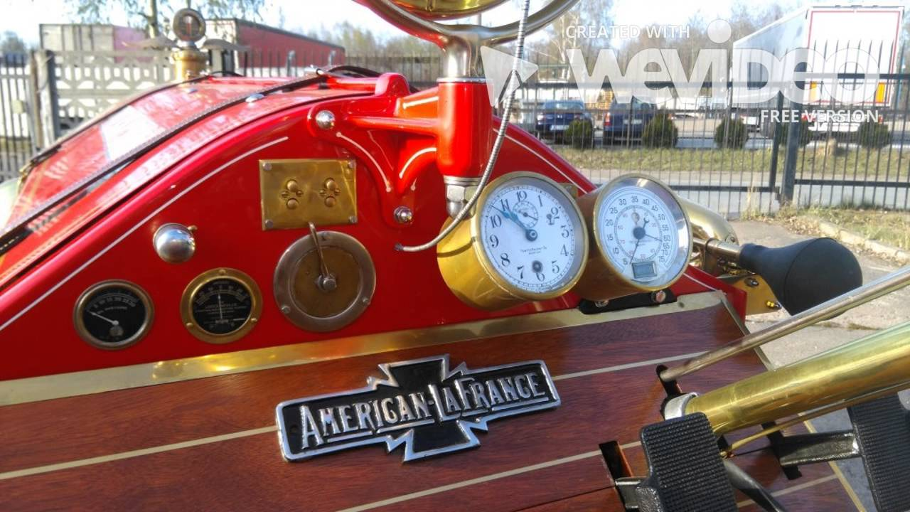 American La France 1919 Speedster Unikat Youtube