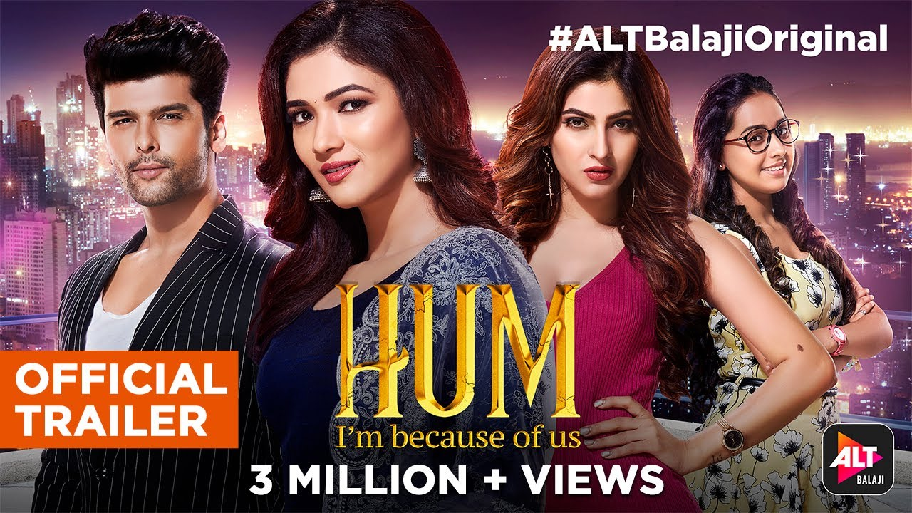 Download Hum   Official Trailer   Kushal Tandon   Karishma Sharma   Ridhima Pandit   Streaming now  ALTBalaji