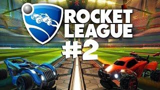 Спонтанные забеги ● Rocket League #2