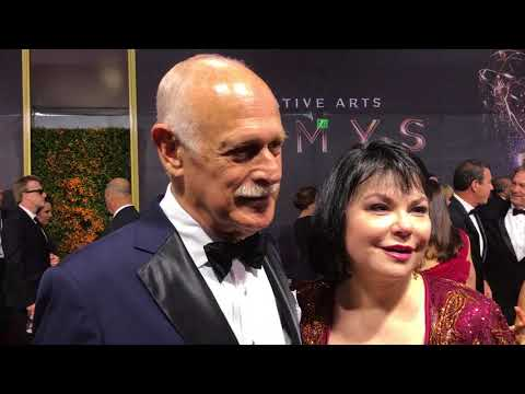 Gerald McRaney This Is Us on red carpet at 2017 Creative Arts Emmys