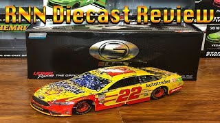 2018 Joey Logano Talladega Winner Shell/Pennzoil Ford | RNN Diecast Review