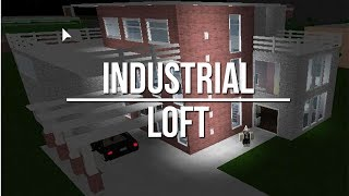 ROBLOX | Welcome to Bloxburg: Industrial Loft (Part 1)