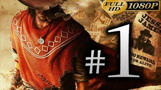Call Of Juarez Gunslinger - Walkthrough Part 1 [1080p HD] - First 40 Minutes - No Commentary