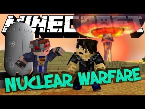 Minecraft Mod Showcase : NUCLEAR WARFARE (Rival Rebels) | Stealth Bomber, Plasma, Lasers & Rockets