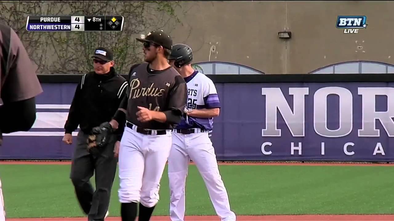 quality design 44695 6818e Baseball - Northwestern vs. Purdue Game Highlights (5/7/16)