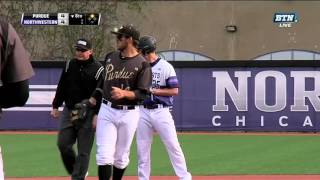 Baseball - Northwestern vs. Purdue Game Highlights (5/7/16)