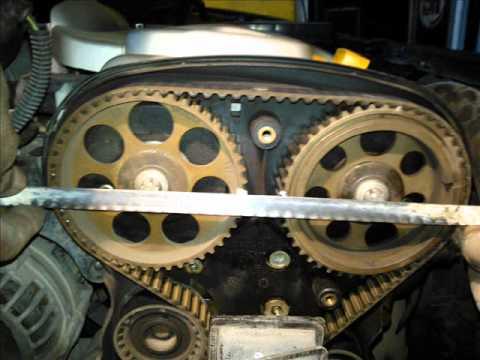 Motor Opel Corsa 18 Lts cambio de banda de distribución
